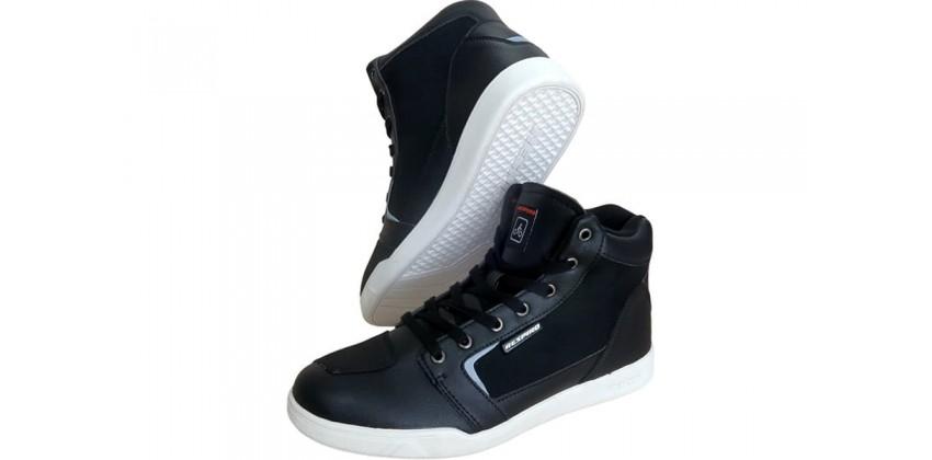 Dtrenz Alpha Canvas Riding Shoe Black White 0