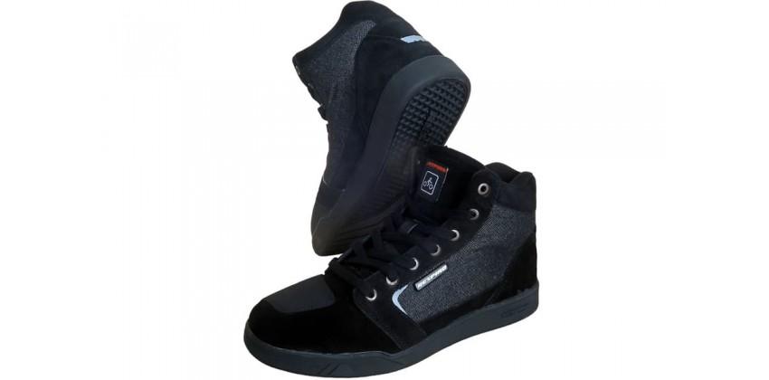D'trenz Betha Denim Riding Shoe Black Black 0