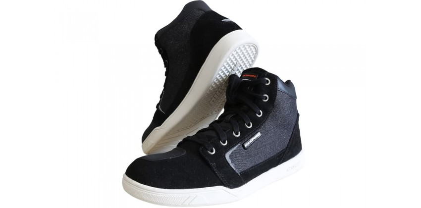 D'trenz Betha Denim Riding Shoe Black White 0