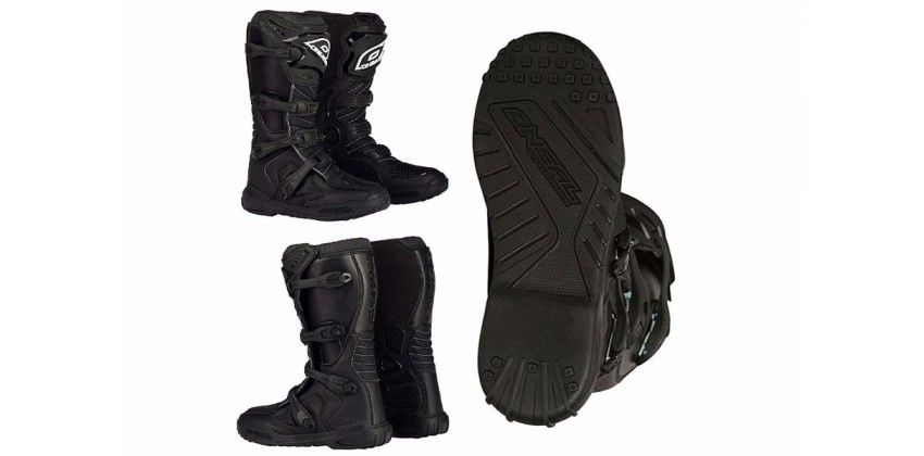 Element IV Black  Sepatu Riding Boots 0