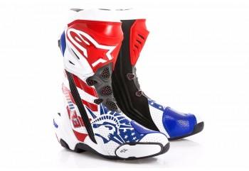 Alpinestars Republik Supertech R Sepatu Balap Putih