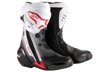 Alpinestars Supertech R Sepatu Touring Putih