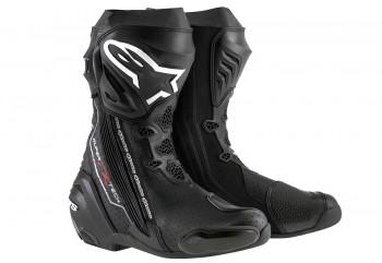 Alpinestars Supertech R Sepatu Touring Hitam