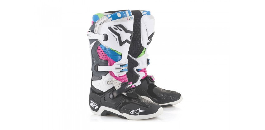 Tech 10 LE Vision  Sepatu Racing Boots 0