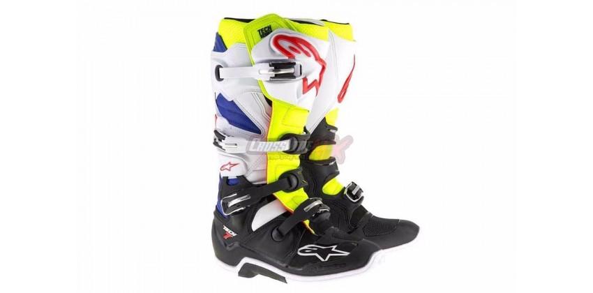 Tech 7 2017  Sepatu Racing Boots 0