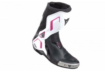 Torque D1 Out Lady Racing Boots Hitam, Putih