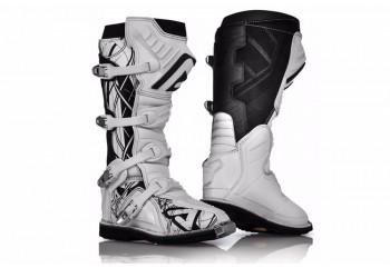 Acerbis X - Pro V Sepatu Balap Putih Cross