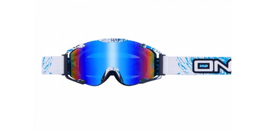 B2 RL Spray Radium  Sunglasses & Goggles Motocross Goggle 0