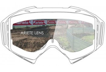 Double Cylindrical Lens : Clear Ventilated  Sunglasses & Goggles Motocross Goggle