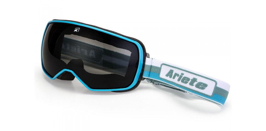Feather White-Turquoise Strap  Sunglasses & Goggles Motocross Goggle 0