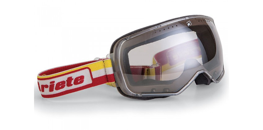 Feather Yellow-Red Strap  Sunglasses & Goggles Motocross Goggle 0