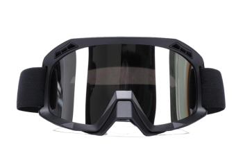 ZULU Glossy Black Goggles