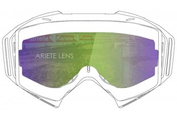 Lens with Pins : Multilayer Green  Sunglasses & Goggles Motocross Goggle