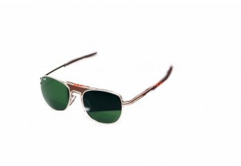 Pilot Larged Silver  Sunglasses & Goggles Sunglasses