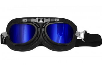 SNAIL Classic Blue Visor Goggles
