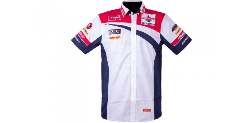 FOGM2 2018 Shirt White Navy Red 0