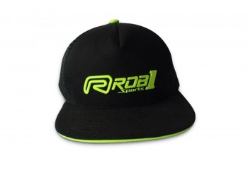 Trucker Green Rubber T-Shirt & Cap Cap