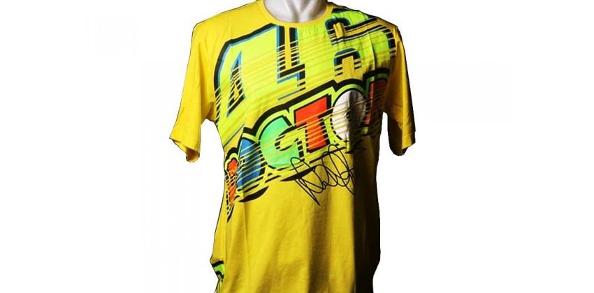 VR46 The Doctor Stripes T-Shirt & Cap T-shirt 0