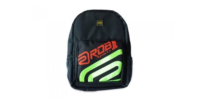 Half Logo Tas Backpack 0