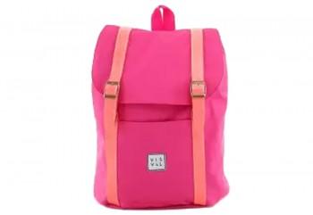 Visval Kiera Pink Tas Backpack