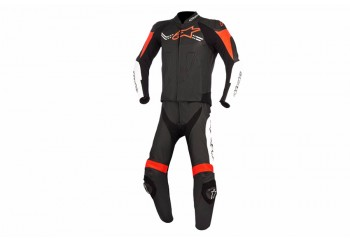 Alpinestars Challenger 2PC Suit Wearpack Hitam