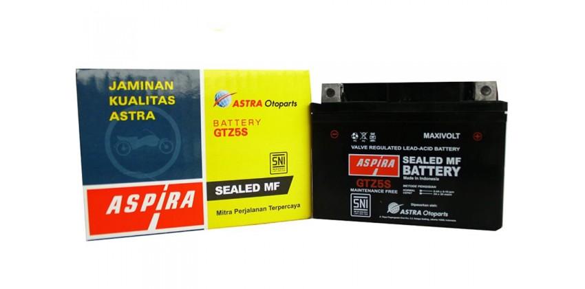 ASPIRA 11-GTZ-5SMF Aki Motor Kering 0