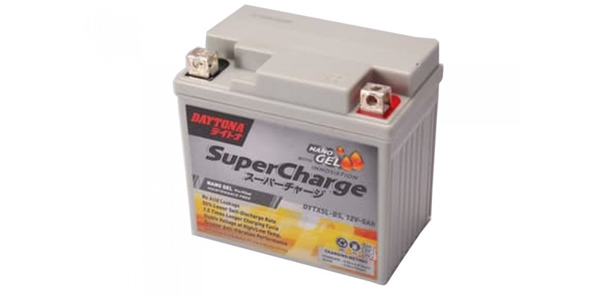 Daytona DYTX5L-BS 5Ah Pro Series Super Charge Gel Battery 0