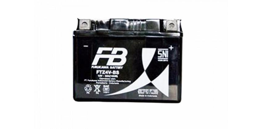 FTZ4V-BS Aki Motor Aki Kering 0