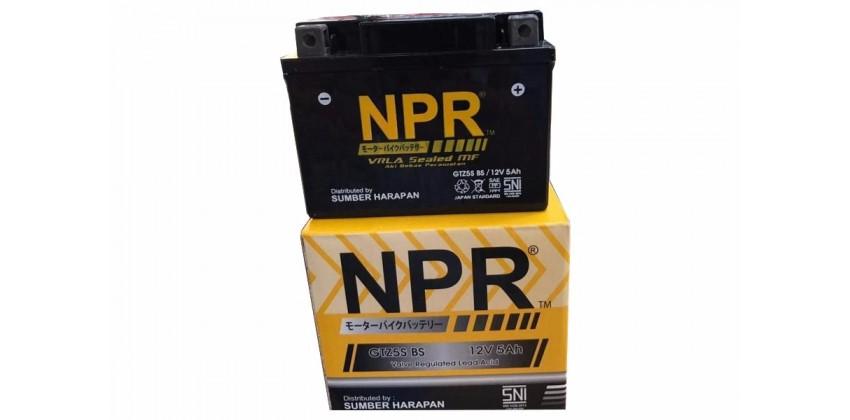 NPR GTZ-5S Aki Motor Kering 0