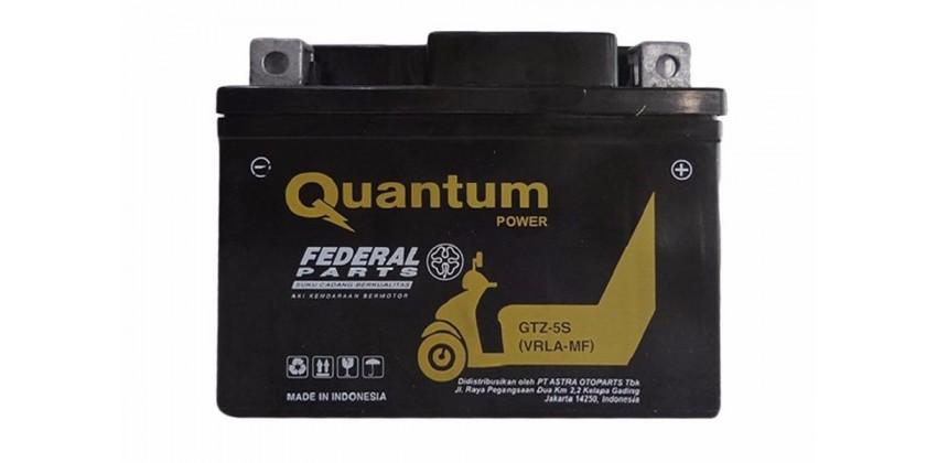 Federal Parts GTZ5S Aki Motor Kering Quantum 0