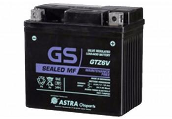GS ASTRA GTZ-6V Aki Motor Kering