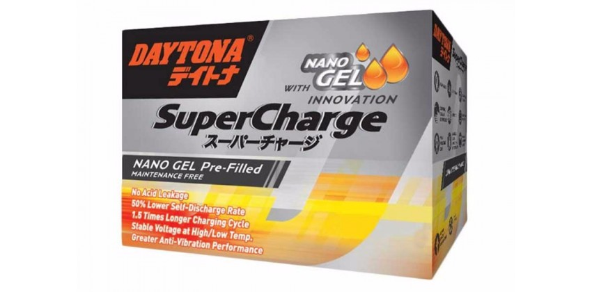 Super Charge DYTX5L-BS Aki Kering 0