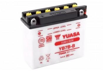 Yuasa YB7B-B-BA Aki Motor Basah