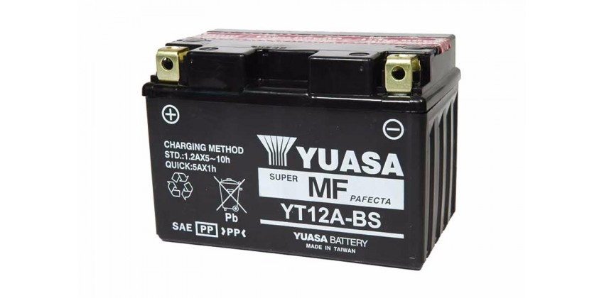 Yuasa YT12A-BS Aki Motor Kering 0