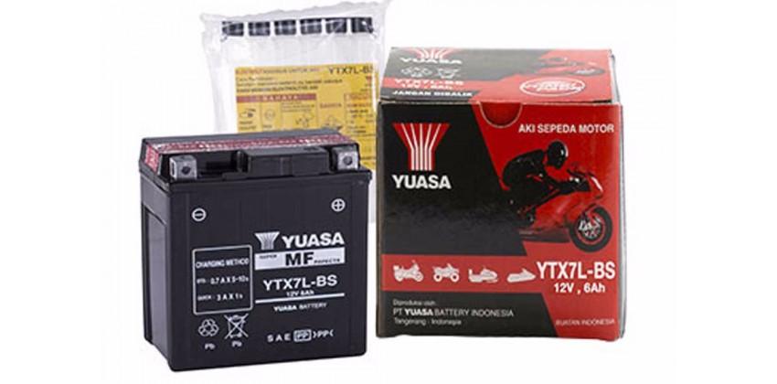 YTX7L-BS Aki Kering 0