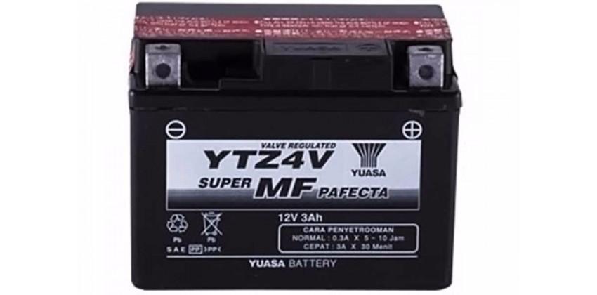 YTZ4-V Aki Motor Aki Kering 0