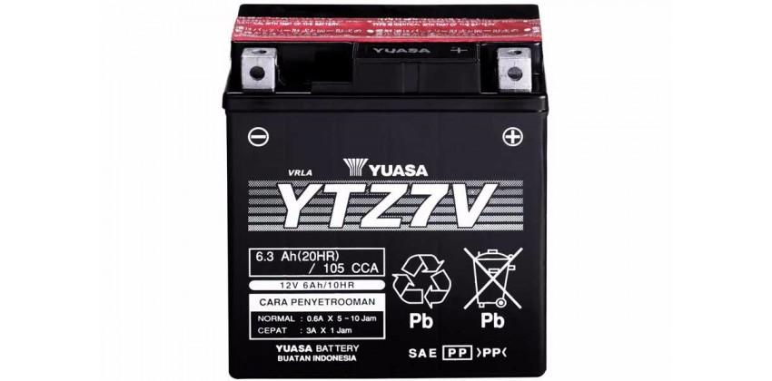 YTZ7-V Aki Motor Aki Kering 0