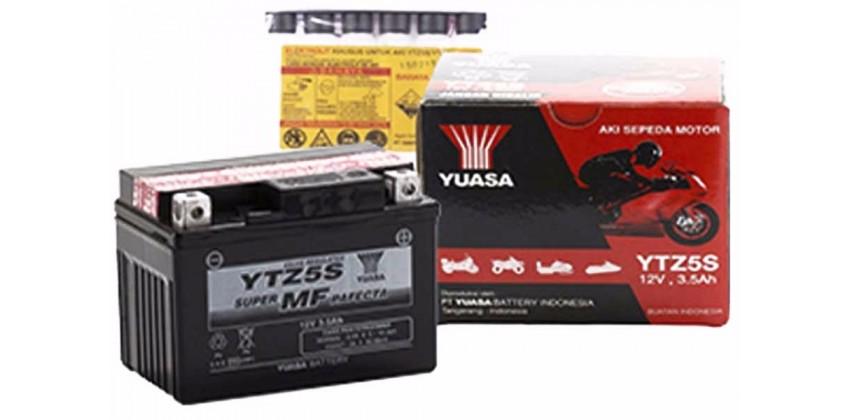 YUASA YTZ5-S Aki Motor Kering 0