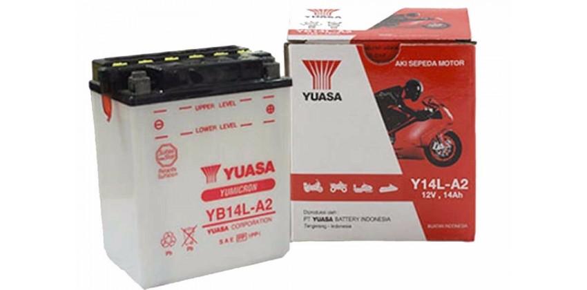 Yumicron YB14L-A2 Aki Basah 0