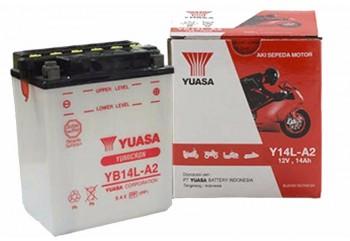 Yuasa Yumicron YB14L-A2 Aki Motor Basah