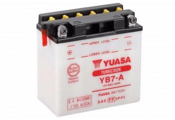 Yuasa Yumicron YB7-A Aki Motor Basah