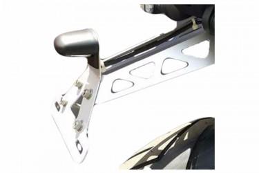 Yamaha Genuine Parts 90798C007600 Aksesori Body Braket Plat Nomor Silver Short