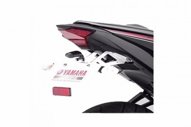 Yamaha Genuine Parts 90798C008700 Aksesori Body Braket Plat Nomor Silver Short