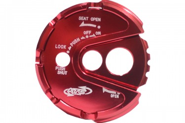 A-TECH TUK3023 Aksesori Body Cover Kunci Kontak Merah
