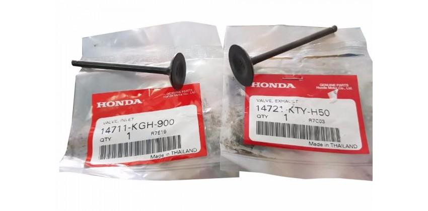 14711-KGH-900 IN / 14721-KTY-H50 EX Blok Mesin Valve   Honda Sonic 125 RS New Honda Nova Sonic 125 RS Super Honda Nova Sonic 125 RS 0
