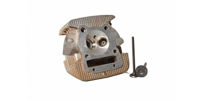 Head + Valve 31/26 KLX 150 Blok Mesin Cylinder Head   Kawasaki KLX 150 0