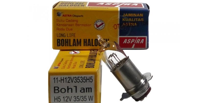 11-H12V3535H5 Bohlam Depan Standar 0
