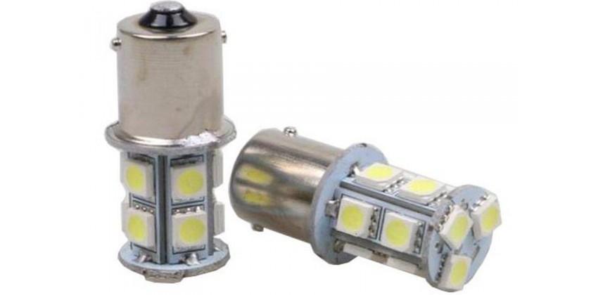 Lampu Rem Led Mobil Motor T20 12 Led Titik Diam Kedip Bohlam Belakang LED 0