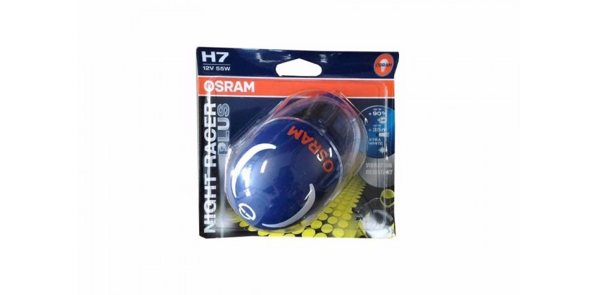 Sport Night Racer Plus H7 Bohlam Bohlam Depan Halogen 0