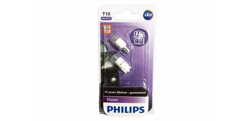 Philips T10 Bohlam Depan LED 0